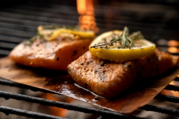 Cedar Plank Salmon (2 servings)