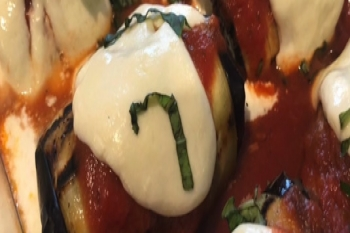 Grilled Eggplant Rollatini Demo - Gigi Ravenhall, RDN